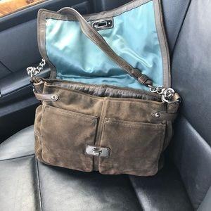Coach Bags - Coach brown suede handbag